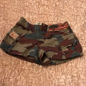 Ralph Lauren army shorts